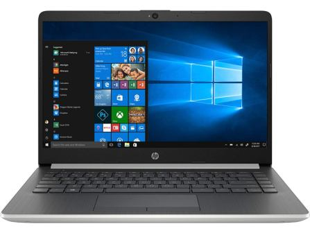 HP 14-inch Core i5 8th Gen FHD Laptop (8GB 1TB HDD Win 10 Integrated Graphics MS Office Natural Silver 1.43 kg), 14s-cs1000tu