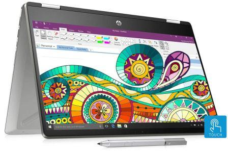 HP Pavilion x360 Core i3 8th Gen 14-inch Touchscreen Laptop (14-dh0107TU)