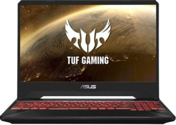 ASUS TUF Gaming FX505GD 15.6 FHD Laptop GTX 1050 4GB Graphics (Core i5-8300H 8th Gen 8GB RAM 1TB HDD Windows 10 Red Fusion 2.20 Kg), FX505GD-BQ044T, Best Gaming Laptop Under 60000 in India 2021
